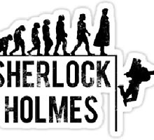 Evolution Of Sherlock Holmes by Grace Mac Rae