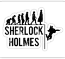 Evolution Of Sherlock Holmes Sticker