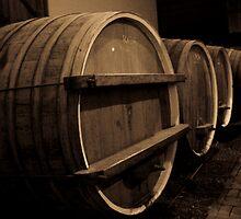 Wine Barrels by David Petranker
