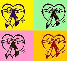 Pop Art Heart by xtramileart