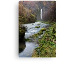 End of the valley Canvas Print