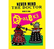 The Punk Daleks  Photographic Print