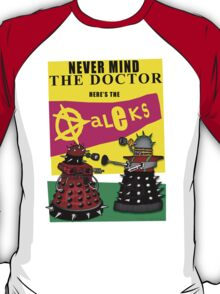 The Punk Daleks  T-Shirt