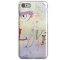 loving eyes iPhone Case/Skin