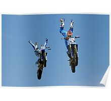 Showtime FMX Yamaha Freestyle Team VII Poster