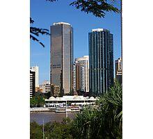 Brisbane Skyline from Kangaroo Point Photographic Print