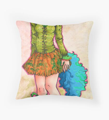 Momo Magic Throw Pillow
