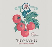 Veg Love Collection No.5 Tomato by jjsgarden