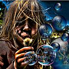 bird bubbles by farmdogger