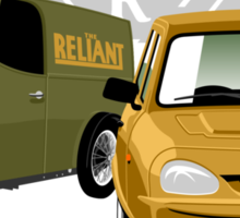Reliant 80 years - first and last 3-wheeler Sticker