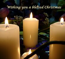 Christmas Candles by Jan Stead JEMproductions