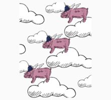 Pigs Might Fly One Piece - Long Sleeve