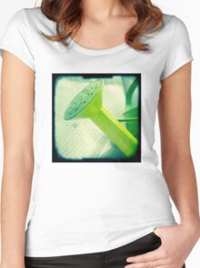 Watering can Women's Fitted Scoop T-Shirt