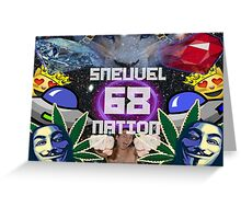Sneuvel Nation - 68 Greeting Card