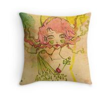 Ringo Round the Rosy Throw Pillow