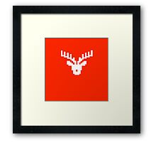 Red Rein Framed Print