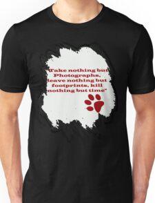 Leave Footprints Unisex T-Shirt
