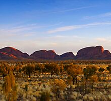 Dawn of Kata Tjuta, 07 May 2008 by Steven Pearce