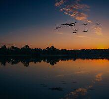 Warbird Reflections  by J Biggadike