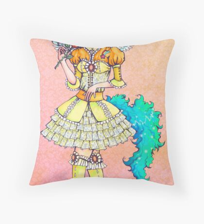 Momolicious Throw Pillow