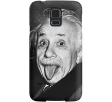 Albert Einstein Tongue Mug Samsung Galaxy Case/Skin