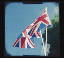 Flags - Union Jacks in a blue sky Baby Tee