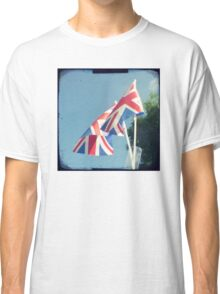 Flags - Union Jacks in a blue sky Classic T-Shirt