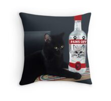 ITS MY PARTY AND I'LL CRY IF I WANT TOO.CRY IF I WANT TOO..U WOULD CRY TOO IF IT HAPPENED TO U....CUTE FELINE BOTTLE AND TOY PILLOW AND OR TOTE BAG Throw Pillow