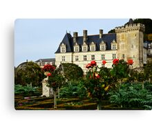 Villandry Castle - Loire Valley - France 4 Canvas Print