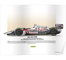 #5 LOLA - 1993 - T9300 - Mansell Poster
