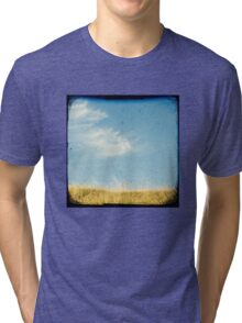 Beach grass Tri-blend T-Shirt