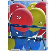 When balloons get scared... iPad Case/Skin