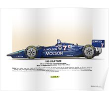 #7 LOLA - 1993 - T9300 - Sullivan Poster