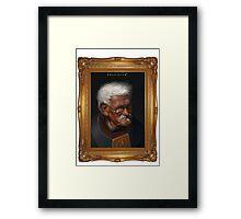 OLD FREEMAN Framed Print