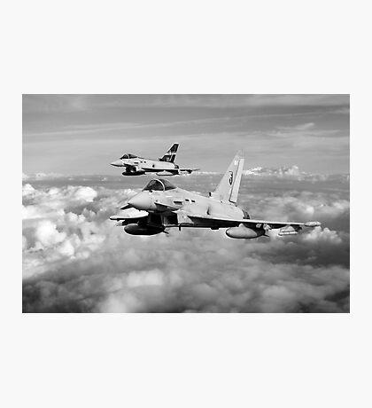 100 Years of 3 Squadron - Mono  Photographic Print