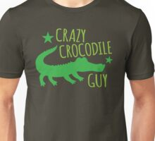Crazy Crocodile Guy Unisex T-Shirt