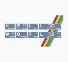 Hello Spectrum World One Piece - Short Sleeve