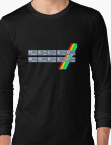 Hello Spectrum World Long Sleeve T-Shirt