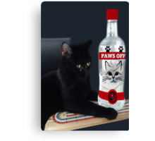 ITS MY PARTY AND I'LL CRY IF I WANT TOO.CRY IF I WANT TOO..U WOULD CRY TOO IF IT HAPPENED TO U....CUTE FELINE BOTTLE AND TOY PICTURE AND OR CARD ECT.. Canvas Print