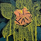 Weeping Flower - Acrylic on Canvas - 4 x 6 in - SOLD by Elle Gamboa