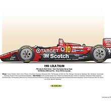 #10 LOLA - 1993 - T9300 - Luyendyk by Evan DeCiren