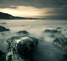 Rock and the Cliff by Oliver Hilbert