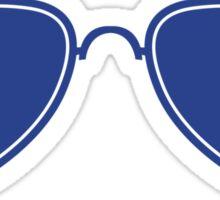 Aviator Glasses Sticker