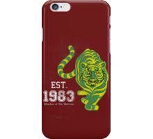 MOTU Battle Cat He-man Cringer 1983 Tiger Green Yellow Stripes Cartoon Action Figure 80s Baby BEST FOR SMALL POUCHES iPhone Case/Skin