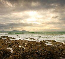 Waipu Cove Rocks by Oliver Hilbert