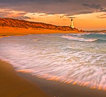Point Lonsdale at Sunset by Hans Kawitzki
