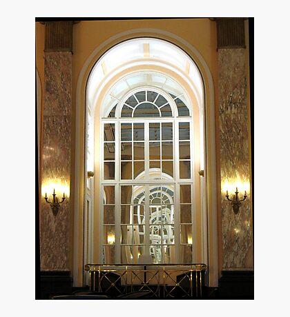 ADELPHI HOTEL WINDOW Photographic Print