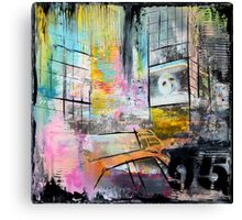 New York Times Square and Taxi Series #95 Canvas Print