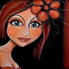 Brunette Beautiful Lady by blucy
