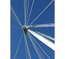 The London Eye detail (1) Photographic Print